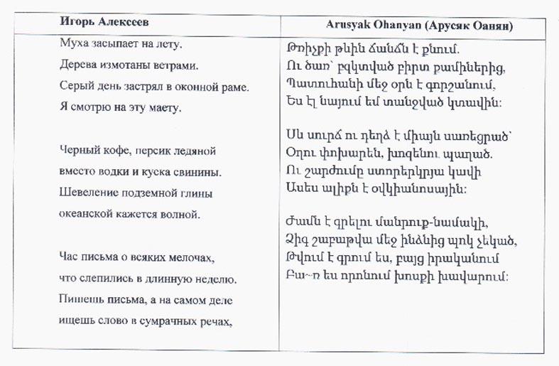 Армянские тости русскими буквами